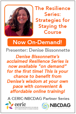 Image of Denise and Webinar information