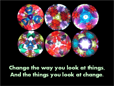 image of change the way you look at things